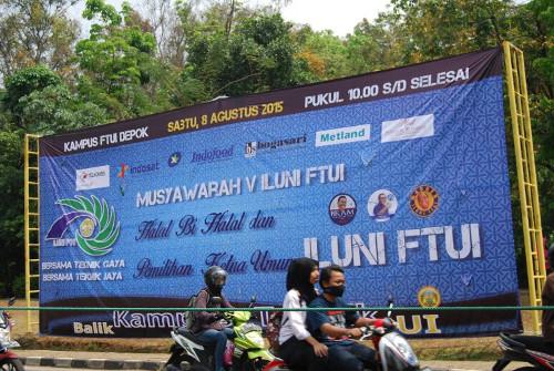 Foto Munas: Banner: 12m x 5m