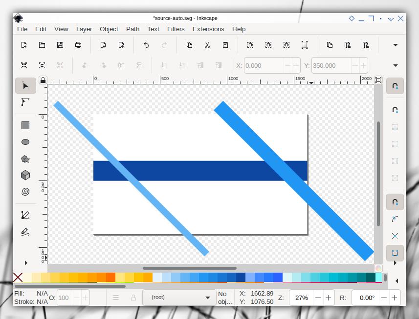 Auto Template: Inkscape: Single Slide: Source