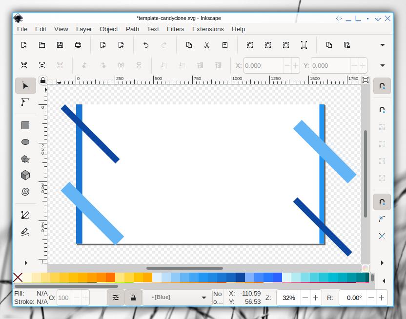 Candyclone Template: Inkscape: Default Slide: Source