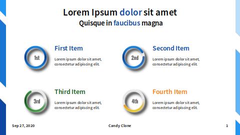 Points: Four Items: Big