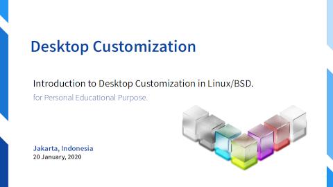 Slide Cover: Desktop Customization