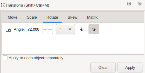 Drop Pinned: Rotate with Transform Tools