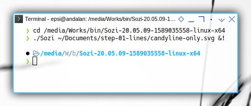 Sozi: Opening Inksape Files