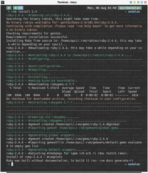 RVM: Install Ruby