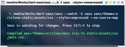 dart-sass: in action