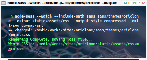 node-sass: in action