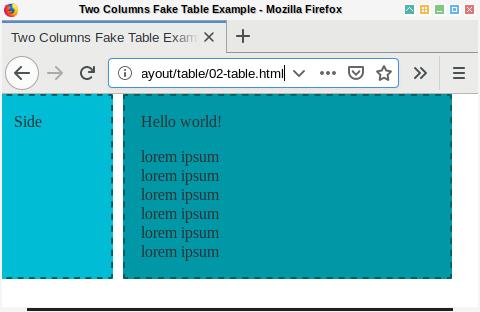 CSS: Equal Column Height