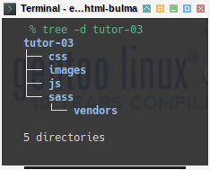 Bulma SASS: Directory Preparation