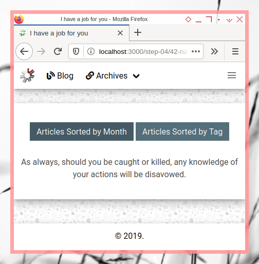 Bulma MD: Landing Page