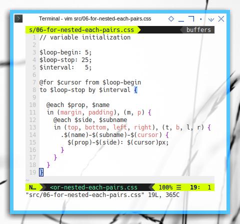 PostCSS: script