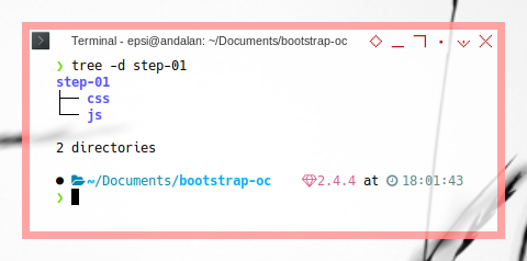 Bootstrap: Directory Preparation