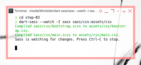 Bootstrap SASS: Compile