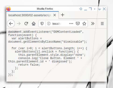 HTML Basic: Browsersync Assets