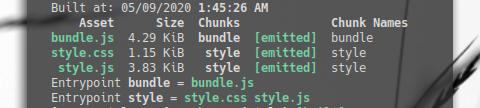 Webpack: Extract Stylesheet: Running Webpack in Terminal