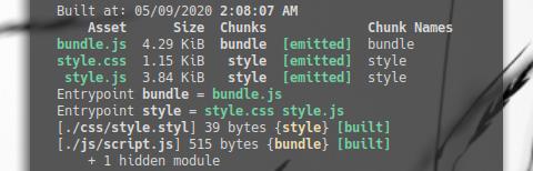Webpack: Render Stylus: Running Webpack in Terminal