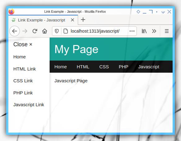 HTML: Hyperlink Example