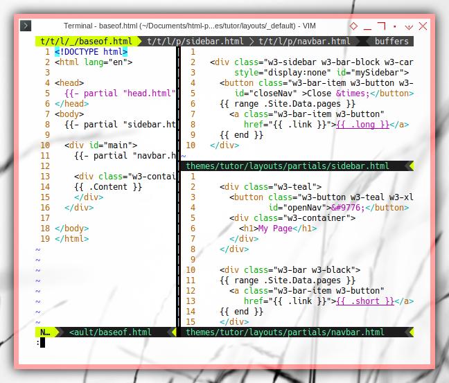 Hugo: Loop in Go html/template
