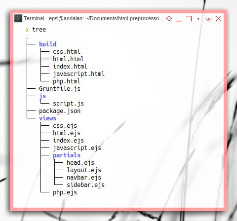EJS: Example: Tree