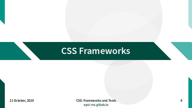 Slide - CSS Frameworks