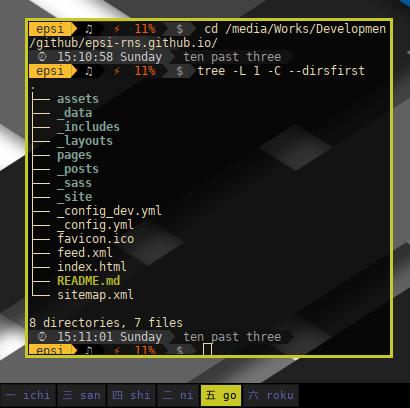 Jekyll Directory: Root