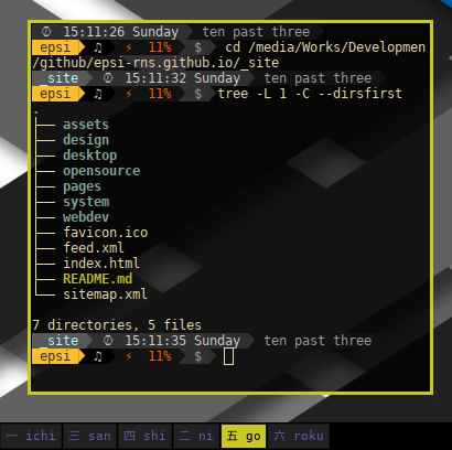 Jekyll Directory: _site