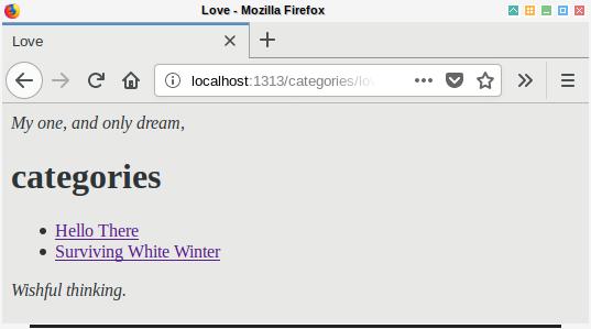 Hugo: Browser Taxonomy