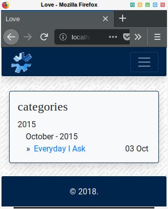 Hugo: Taxonomy Detail Using List