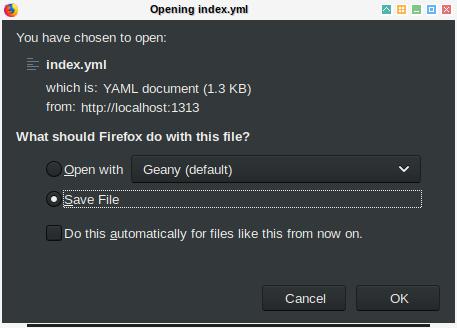 Hugo: YAML Content Type