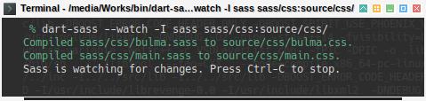 Hexo Bulma SASS: sass update