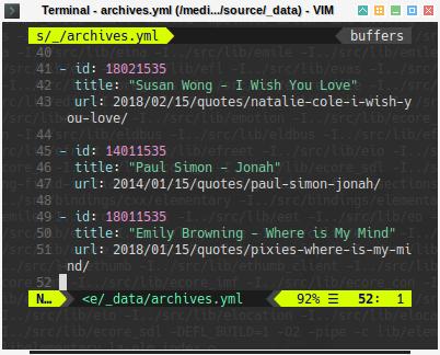 Hexo: Data Archives