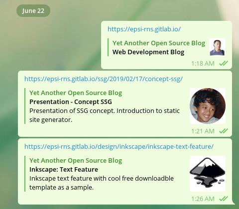 Hexo Meta: Telegram Desktop Opengraph