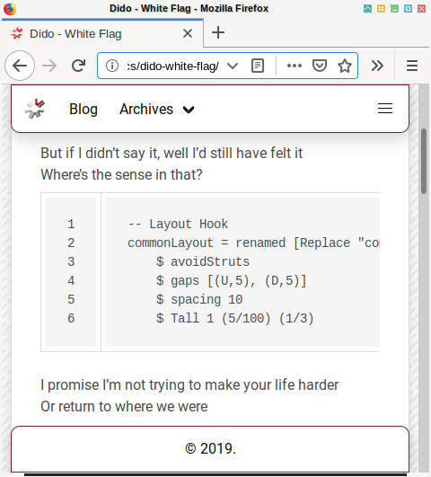 Hexo Syntax Highlighting: Plain