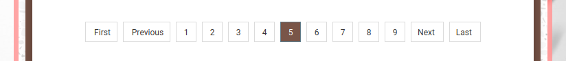 11ty Pagination: Responsive Inline List Style