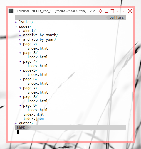 11ty: Tree Build URL