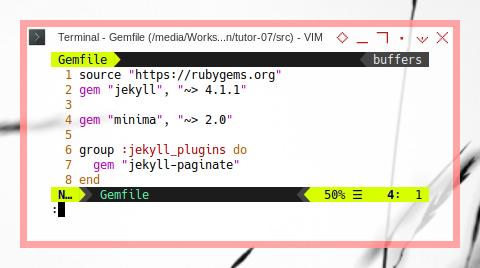 Jekyll Install: Bundle: Gemfile