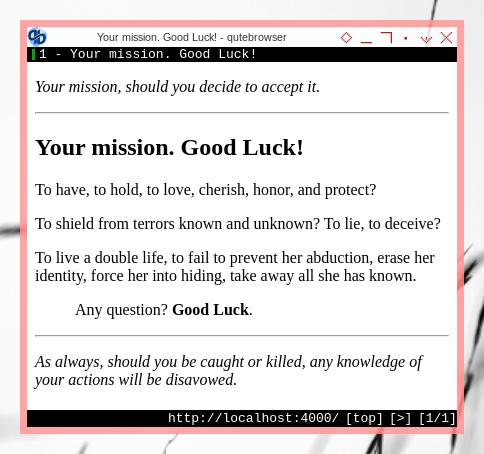 Jekyll: Minimal Theme in Browser