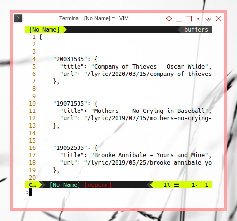 Jekyll: Data archive.json
