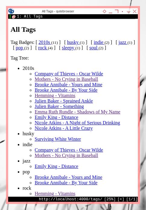 Jekyll: Custom Pages: Tags Tree