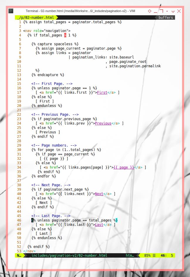 Jekyll Pagination: Paginator Using Filter Plugin