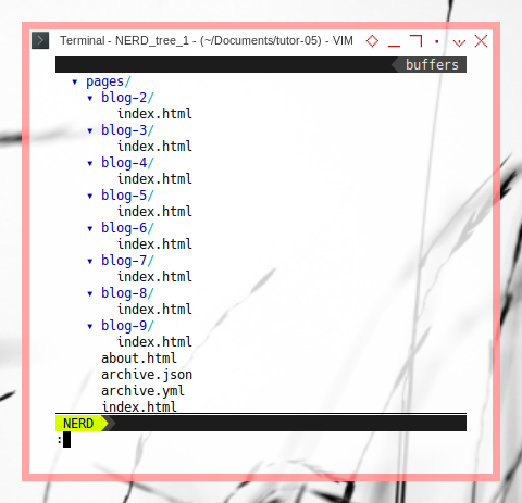 Jekyll: Tree Build URL