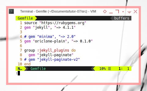 Jekyll Plugin: Using Theme in Gemfile