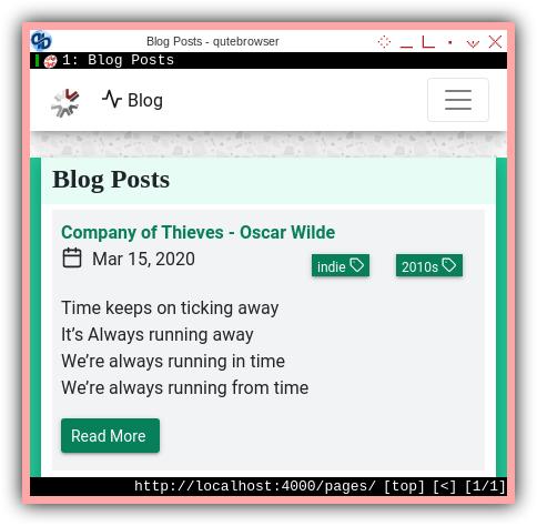 Jekyll Bootstrap: Blog List
