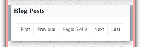 Jekyll Bootstrap Pagination: 01 Simple