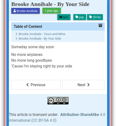Jekyll Content: Preview All Artefacts