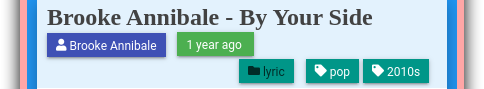 Jekyll Content: Blog Post Header