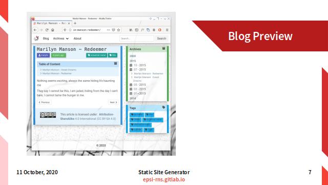 Slide - Preface: Blog Preview