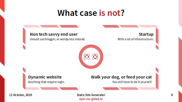 Slide - Preface: What Case is Not SSG