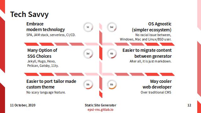 Slide - Preface: Tech Savvy