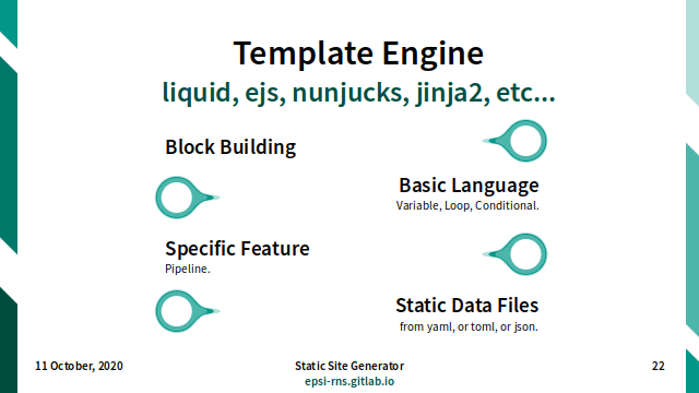 Slide - Theming: Template Engine