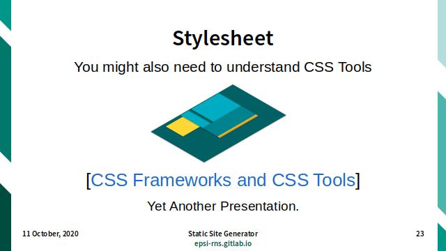 Slide - Theming: Stylesheet